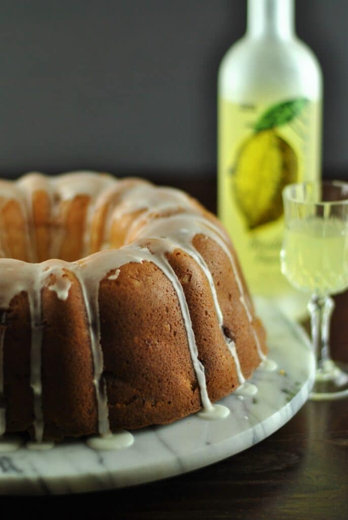 Limoncello apple cake