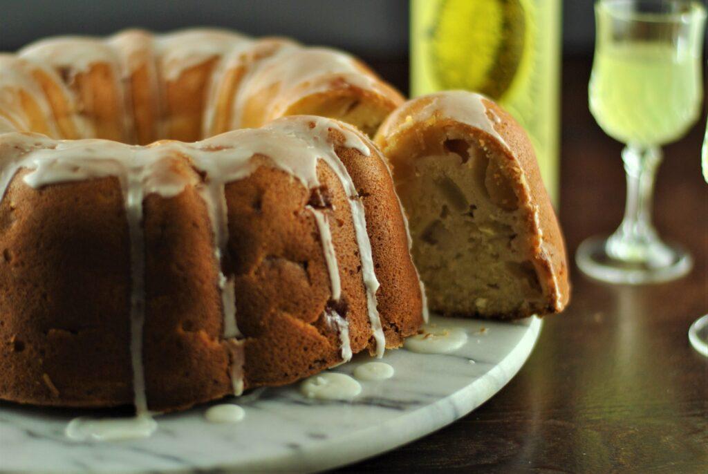Limoncello & apple cake 1