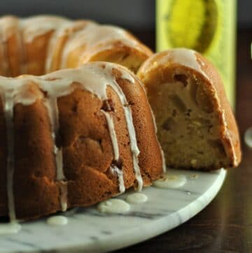 Limoncello & apple cake 3