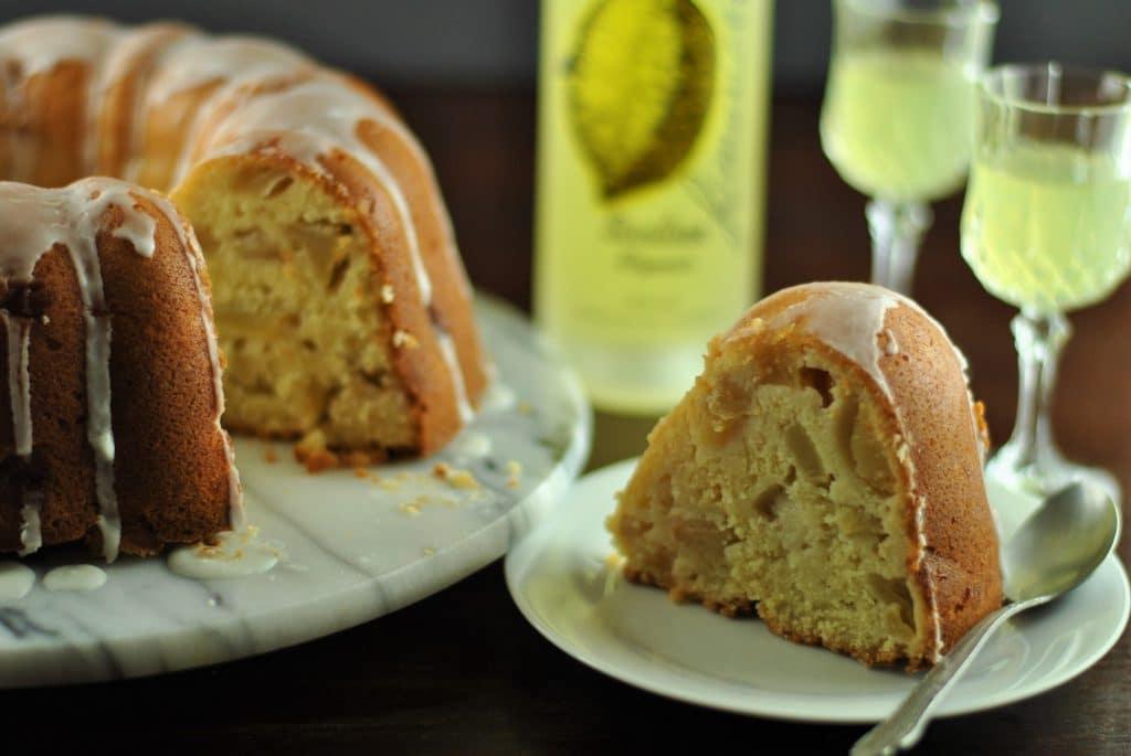 Limoncello & apple cake 2