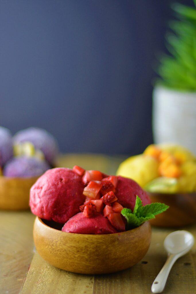 Healthy ice cream - 3 delicious ways!