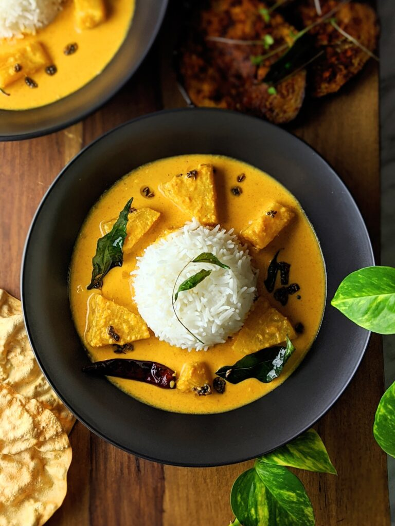 Pineapple Coconut Curry (Kerala Pineapple Pulissery)