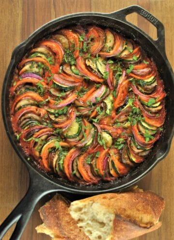Layered Cheesy Ratatouille