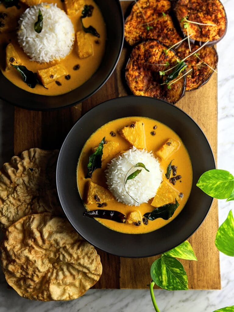 Pineapple Coconut Curry (Pineapple Pulissery)