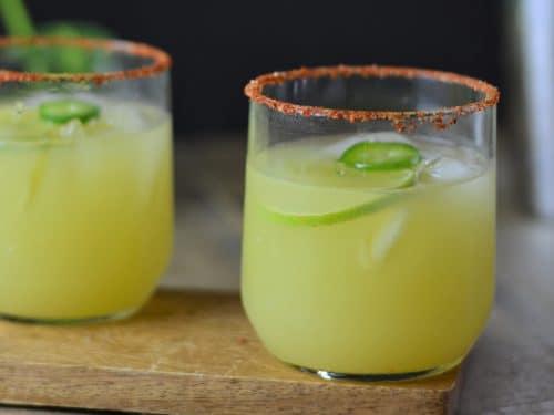 Jalapeno Mezcal Margarita