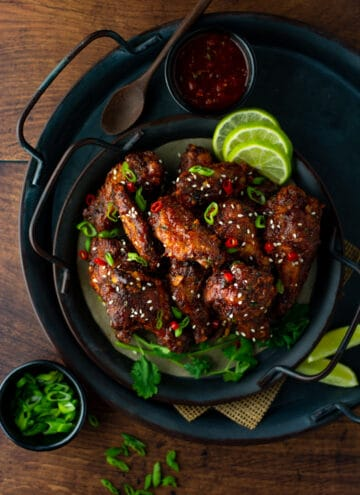Korean gochujang chicken wings (baked/air fried) 2