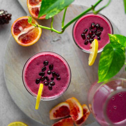 Winter citrus immunity boosting smoothie