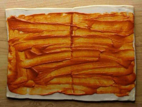 easy baked dabeli samosa pinwheels