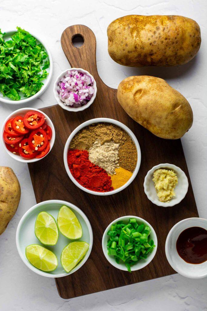 Masala fries ingredients